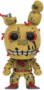 Funko POP de Springtrap - Los mejores FUNKO POP del Five Nights at Freddy's - Los mejores FUNKO POP de personajes de videojuegos