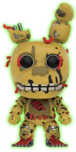 Funko POP de Springtrap oscuridad - Los mejores FUNKO POP del Five Nights at Freddy's - Los mejores FUNKO POP de personajes de videojuegos