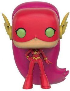 Funko POP de Starfire como Flash - Los mejores FUNKO POP de Teen Titans Go - Los mejores FUNKO POP de series de dibujos animados