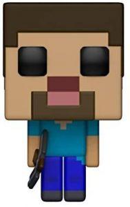 Funko POP de Steve - Los mejores FUNKO POP del Minecraft - Los mejores FUNKO POP de personajes de videojuegos