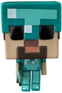 Funko POP de Steve con armadura exclusiva - Los mejores FUNKO POP del Minecraft - Los mejores FUNKO POP de personajes de videojuegos