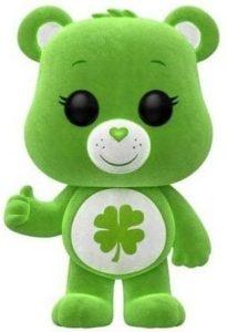 Funko POP de Suertosito con pelo - Good Luck Bear flocked - Los mejores FUNKO POP de los osos Amorosos - Care Bears - Los mejores FUNKO POP de series de dibujos animados