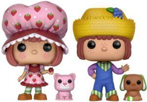 Funko POP de Tarta de Fresa y Tony Mermelada - Strawberry Shortcake y Huckleberry Pie - Los mejores FUNKO POP de Tarta de Fresa - Strawberry Shortcake