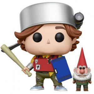 Funko POP de Toby con armadura con gnomo - Los mejores FUNKO POP de Trollhunters - Los mejores FUNKO POP de películas de dibujos animados