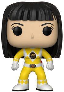 Funko POP de Trini - Power Ranger amarillo sin casco - Los mejores FUNKO POP de los Power Ranger - Funko POP de series de televisión