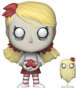 Funko POP de Wendy y Abigail oscuridad - Los mejores FUNKO POP de Don't Starve - Los mejores FUNKO POP de personajes de videojuegos
