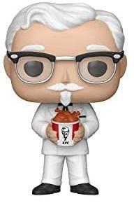 Funko POP del Colonel Sanders - Los mejores FUNKO POP del KFC - Los mejores FUNKO POP de marcas comerciales