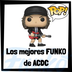 Los mejores FUNKO POP de ACDC - Los mejores FUNKO POP de los integrantes de ACDC - Los mejores FUNKO POP de grupos de música de Rock and Roll