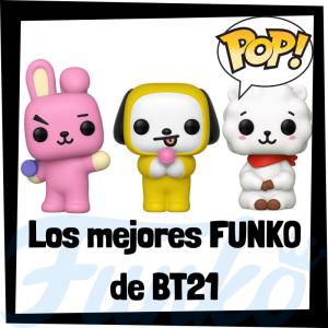 Los mejores FUNKO POP de BT21 - Funko POP de series de televisión de dibujos animados