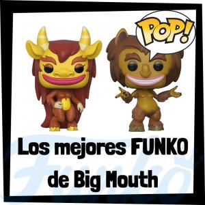 Los mejores FUNKO POP de Big Mouth - Funko POP de series de televisión de dibujos animados