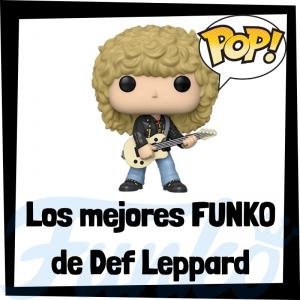 Los mejores FUNKO POP de Def Leppard - Los mejores FUNKO POP de los integrantes de Def Leppard - Los mejores FUNKO POP de grupos de música de Rock and Roll