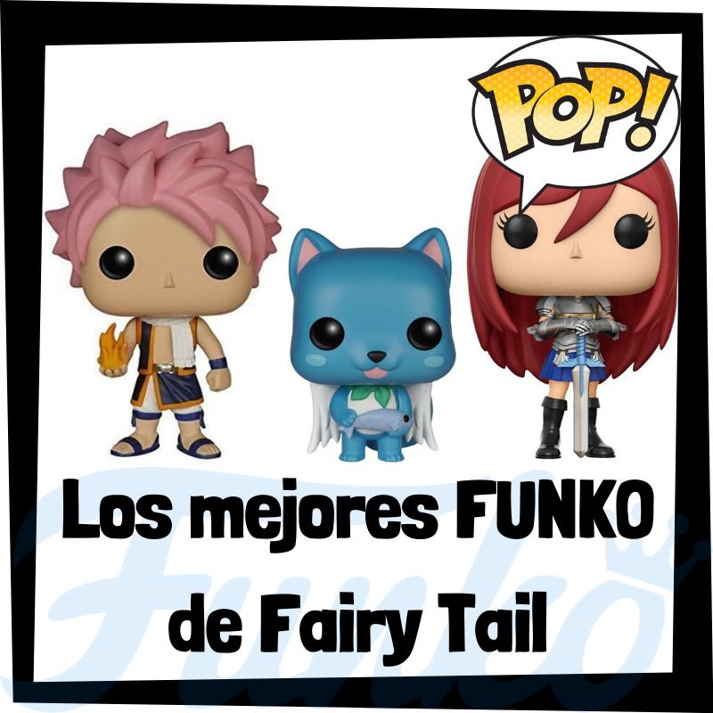 Los mejores FUNKO POP de Fairy Tail