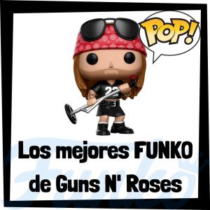 Los mejores FUNKO POP de Guns and Roses - Los mejores FUNKO POP de los integrantes de Guns and Roses - Los mejores FUNKO POP de grupos de música de Rock and Roll