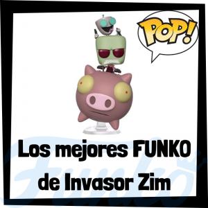 Los mejores FUNKO POP de Invasor Zim - Invader Zim - Funko POP de series de televisión de dibujos animados