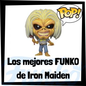 Los mejores FUNKO POP de Iron Maiden - Los mejores FUNKO POP de los integrantes de Iron Maiden - Los mejores FUNKO POP de grupos de música de Rock and Roll
