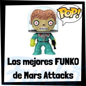 Los mejores FUNKO POP de Mars Attacks - FUNKO POP de películas