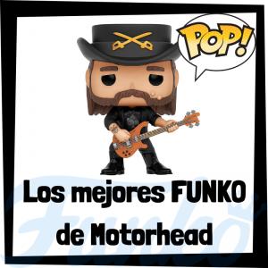 Los mejores FUNKO POP de Motorhead - Los mejores FUNKO POP de los integrantes de Motorhead - Los mejores FUNKO POP de grupos de música de Rock and Roll
