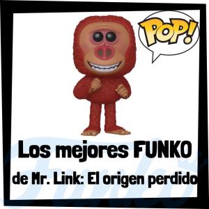 Los mejores FUNKO POP de Mr. Link, el origen perdido - FUNKO POP de películas de animación