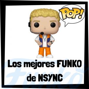 Los mejores FUNKO POP de NSYNC - Los mejores FUNKO POP de los integrantes de NSYNC - Los mejores FUNKO POP de grupos de música de POP