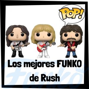 Los mejores FUNKO POP de Rush - Los mejores FUNKO POP de los integrantes de Rush - Los mejores FUNKO POP de grupos de música de Rock and Roll