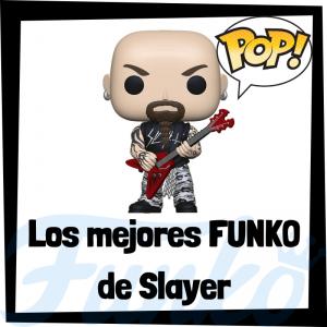 Los mejores FUNKO POP de Slayer - Los mejores FUNKO POP de los integrantes de Slayer - Los mejores FUNKO POP de grupos de música de Heavy Metal
