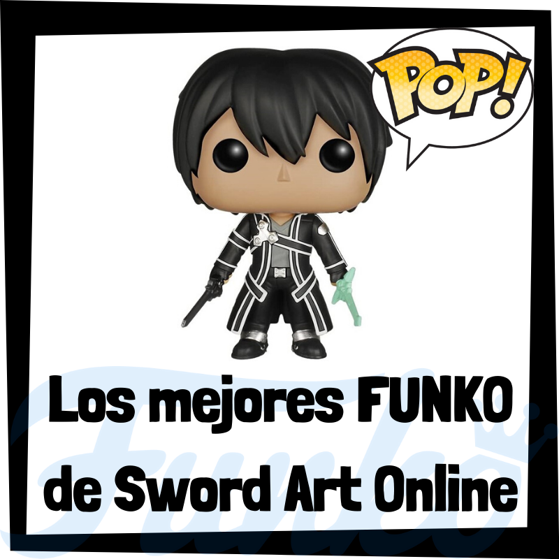 Los mejores FUNKO POP de Sword Art Online