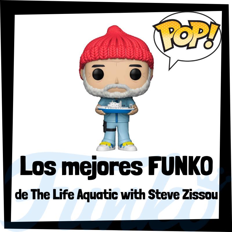 Los mejores FUNKO POP de The Life Aquatic with Steve Zissou