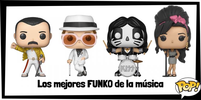 Los mejores FUNKO POP de grupos musicales de Rock and Roll - Los mejores FUNKO POP del mundo de la música - Los mejores FUNKO POP de todos los cantantes y grupos de música
