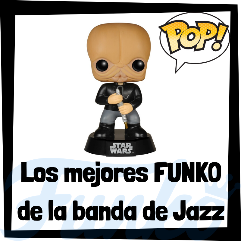 Los mejores FUNKO POP de la banda de Jazz de Star Wars