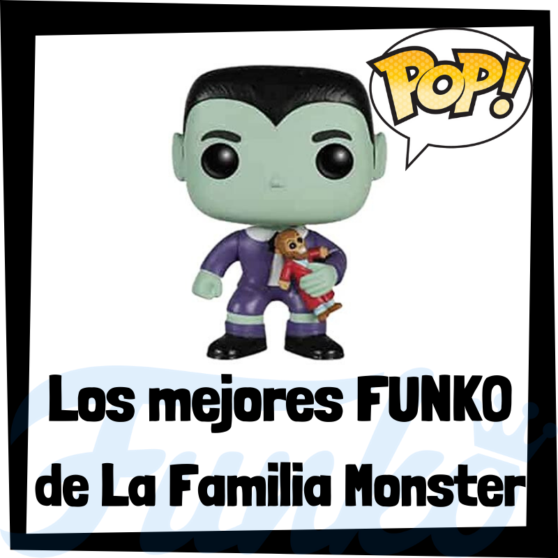 Los mejores FUNKO POP de La Familia Monster