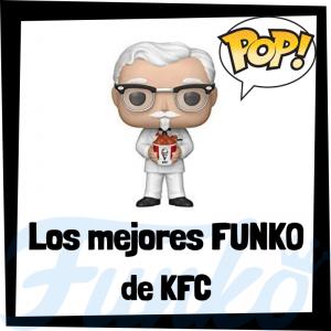 Los mejores FUNKO POP del KFC Kentucky Fried Chicken - Funko POP de marcas y anuncios de televisión
