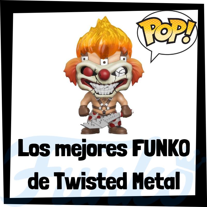 Los mejores FUNKO POP del Twisted Metal