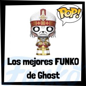 Los mejores FUNKO POP del grupo Ghost - Los mejores FUNKO POP de los integrantes del grupo Ghost - Los mejores FUNKO POP de grupos de música de Rock and Roll