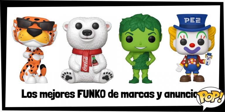 Los mejores FUNKO de anuncios de la televisión y marcas famosas - FUNKO POP de personajes y logos de empresas t branding - Los mejores FUNKO POP de anuncios de televisión