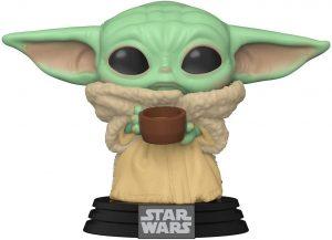 Funko POP de Baby Yoda con vaso - Los mejores FUNKO POP de Baby Yoda - The Child de The Mandalorian - Los mejores FUNKO POP de personajes de Star Wars
