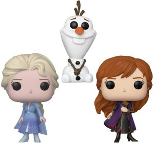Funko POP de figuras Pack de Elsa, Anna y Olaf - Los mejores FUNKO POP de Frozen y Frozen 2 - FUNKO POP de Disney
