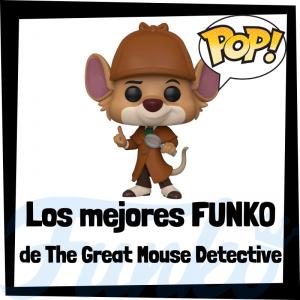 Los mejores FUNKO POP de Basil, el ratón Superdetective - Funko POP de películas de Disney - Funko de películas de animación