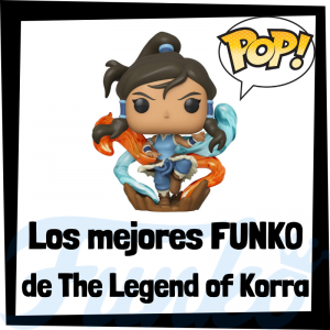 Los mejores FUNKO POP de The Legend of Korra - Funko POP de series de televisión de dibujos animados