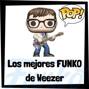 Los mejores FUNKO POP de Weezer - Los mejores FUNKO POP de los integrantes de Weezer - Los mejores FUNKO POP de grupos de música de Rock and Roll