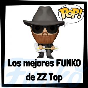 Los mejores FUNKO POP de ZZ Top - Los mejores FUNKO POP de los integrantes de ZZ Top - Los mejores FUNKO POP de grupos de música de Rock and Roll