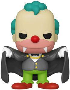 Funko POP de Krusty Vampiro - Los mejores FUNKO POP de los Simpsons Halloween - Los mejores FUNKO POP de series de dibujos animados