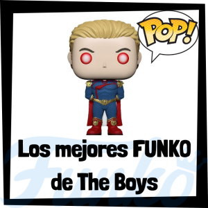 Los mejores FUNKO POP de The Boys - Los mejores FUNKO POP de personajes de The Boys - Funko POP de series de televisión