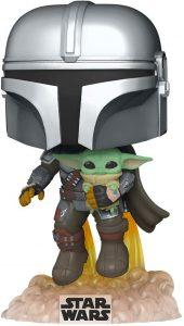 Funko POP de Baby Yoda con Mando - Los mejores FUNKO POP de Baby Yoda - The Child de The Mandalorian - Los mejores FUNKO POP de personajes de Star Wars 2