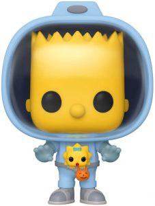 Funko POP de Bart con Maggie - Los mejores FUNKO POP de los Simpsons - Los mejores FUNKO POP de series de dibujos animados