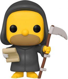 Funko POP de Muerte Homer - Los mejores FUNKO POP de los Simpsons Halloween - Los mejores FUNKO POP de series de dibujos animados