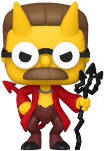 Funko POP de Ned Flanders Diablo - Los mejores FUNKO POP de los Simpsons Halloween - Los mejores FUNKO POP de series de dibujos animados
