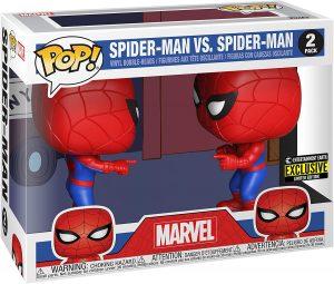 Funko POP de Spiderman vs Spiderman - Los mejores FUNKO POP de Spiderman - Los mejores FUNKO POP del Spiderverse - Funko POP de Marvel Comics - Los mejores FUNKO POP de los Vengadores