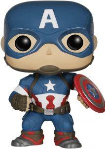 Funko POP del Capitán América Era de Ultron - Los mejores FUNKO POP del capitán América - Funko POP de Marvel Comics - Los mejores FUNKO POP de los Vengadores