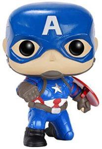 Funko POP del Capitán América posando - Los mejores FUNKO POP del capitán América - Funko POP de Marvel Comics - Los mejores FUNKO POP de los Vengadores