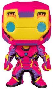 Funko de Iron Man de Pop Marvel Black Light - Los mejores FUNKO POP de Iron Man - Los mejores FUNKO POP de Marvel